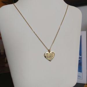 Love Heart Shape Necklace Jewelry